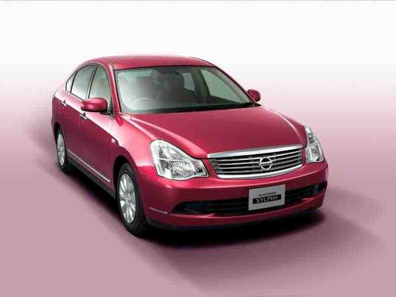 Nissan Bluebird Sylphy G11седан 1.5 AT 4WD 2005–2012