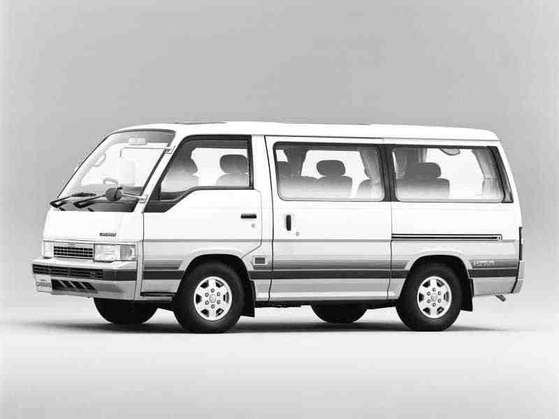 Nissan Caravan E24Микроавтобус 2.7 D AT Silk Road Limousine 1997–1999