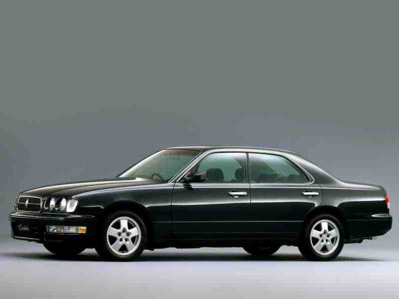Nissan Cedric Y33Gran Tourismo седан 2.5 Turbo 4WD AT 1997–1999