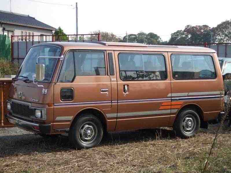 Nissan Caravan E23 [рестайлинг] Микроавтобус 2.3 D MT Silk Road 1983–1987