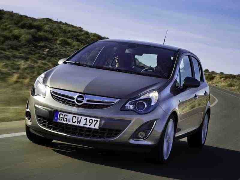 Opel Corsa D [рестайлинг] хетчбэк 5-дв. 1.4 AT Enjoy 2011–н. в.