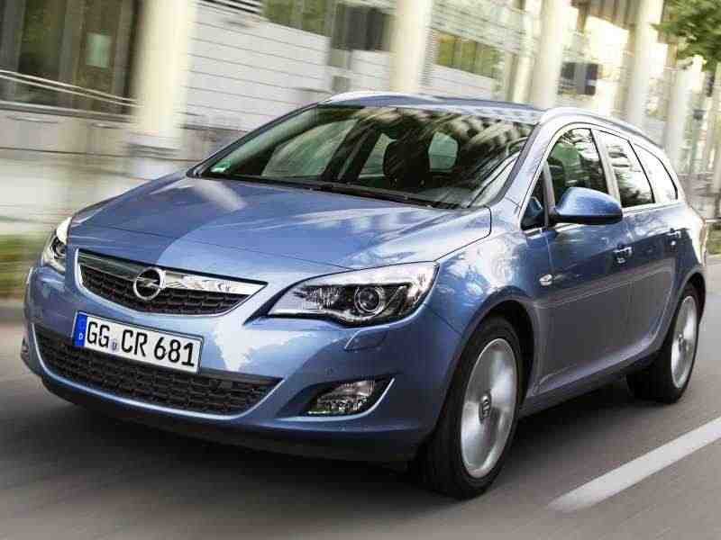 Opel Astra JSports Tourer универсал 1.4 Turbo MT Enjoy 2010–2012
