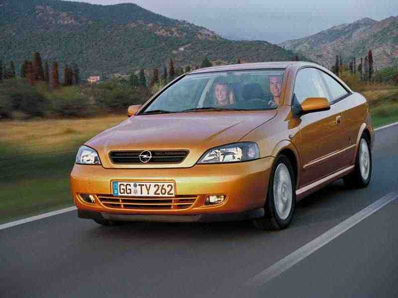 Opel Astra Gкупе 2.2 AT 2000–2006