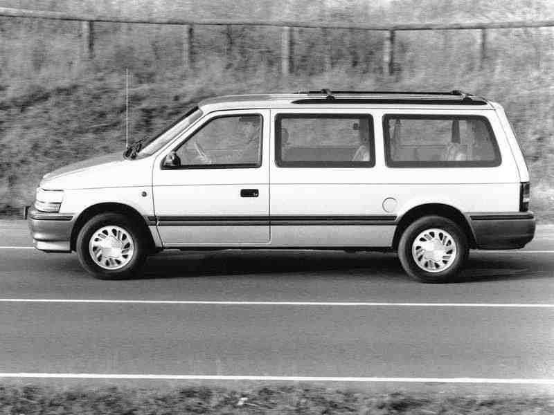 Plymouth Voyager/Grand Voyager 2 поколение Grand минивэн 3.8i AT LE 1990–1995
