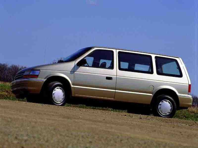 Plymouth Voyager/Grand Voyager 2 поколение минивэн 3.3i AT 1990–1995