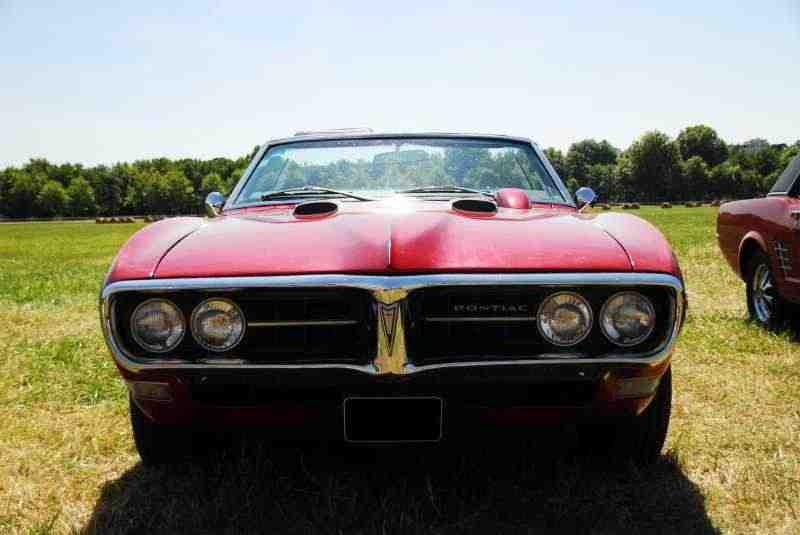 Pontiac Firebird 1 поколение  [рестайлинг] кабриолет 6.6 Heavy-Duty 4MT 1968–1968