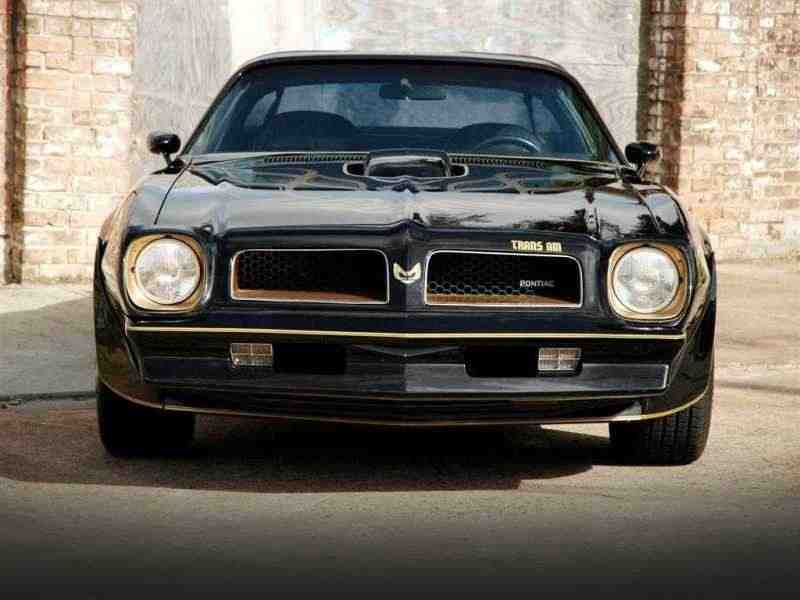 Pontiac Firebird «2 поколение  [2-й рестайлинг] Trans Am «»50th Anniversary»» T-Roof тарга» 7.5 Turbo Hydra-Matic 1976–1977
