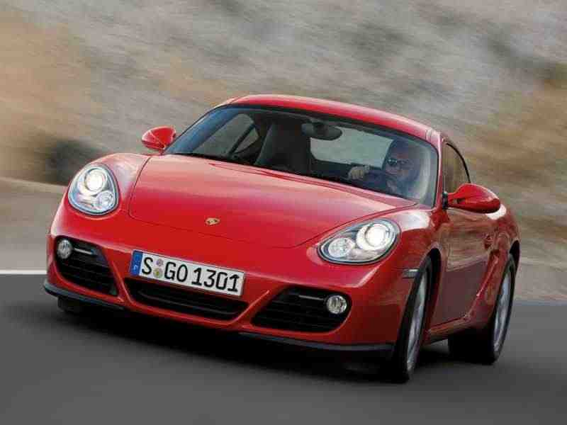 Porsche Cayman 987c [рестайлинг] купе 2-дв. S 3.4 PDK Black Edition 2010–2012