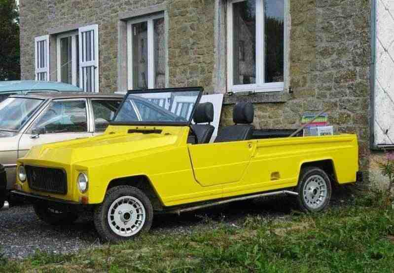 Renault Rodeo 4 Rodeoкабриолет 0.8 MT 1970–1981