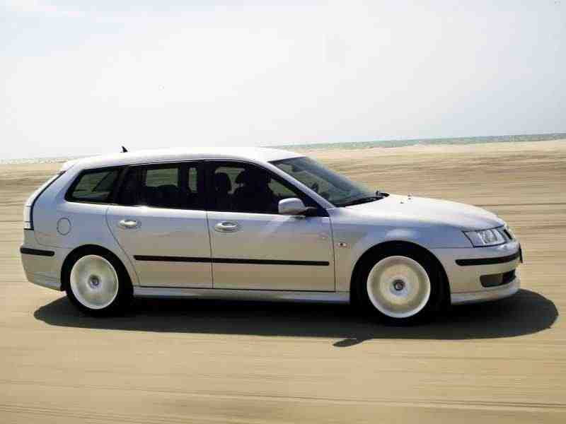 Saab 09.мар 2 поколение универсал 2.8 turbo MT 2005–2007