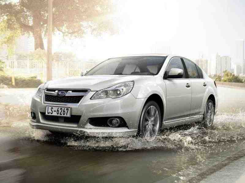 Subaru Legacy 5 поколение  [рестайлинг] седан 2.5 GT E-5AT AWD WC 2012–н. в.