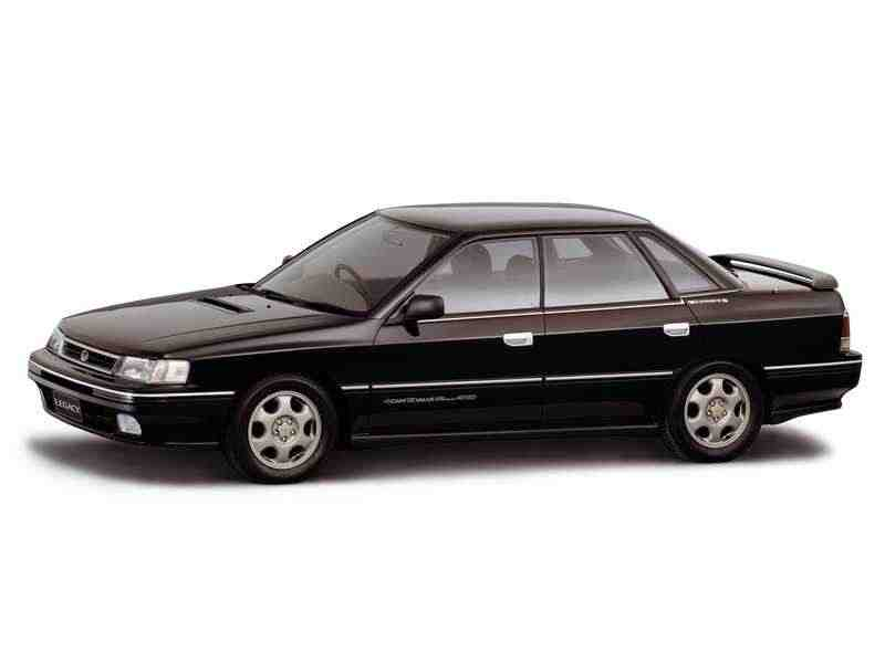 Subaru Legacy 1 поколение седан 2.0 Turbo MT 4WD 1989–1994