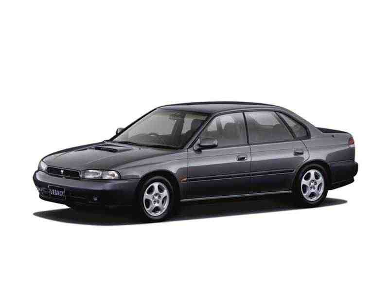 Subaru Legacy 2 поколение седан 2.0 Turbo MT 4WD 1997–1999