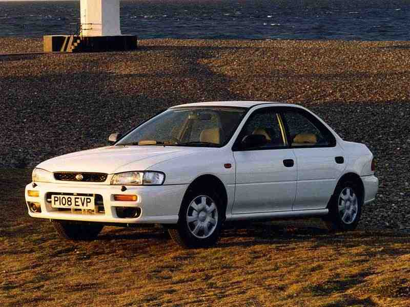 Subaru Impreza 1 поколение седан 2.0 Turbo MT 4WD 1994–2000