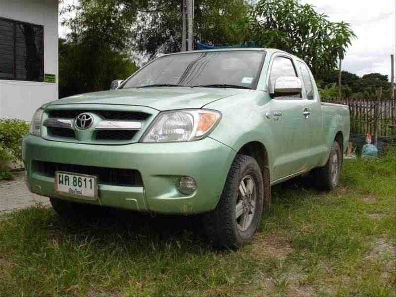 Toyota Hilux 7 поколение Extended Cab пикап 2-дв. 2.5 TD AT АWD 2005–2008