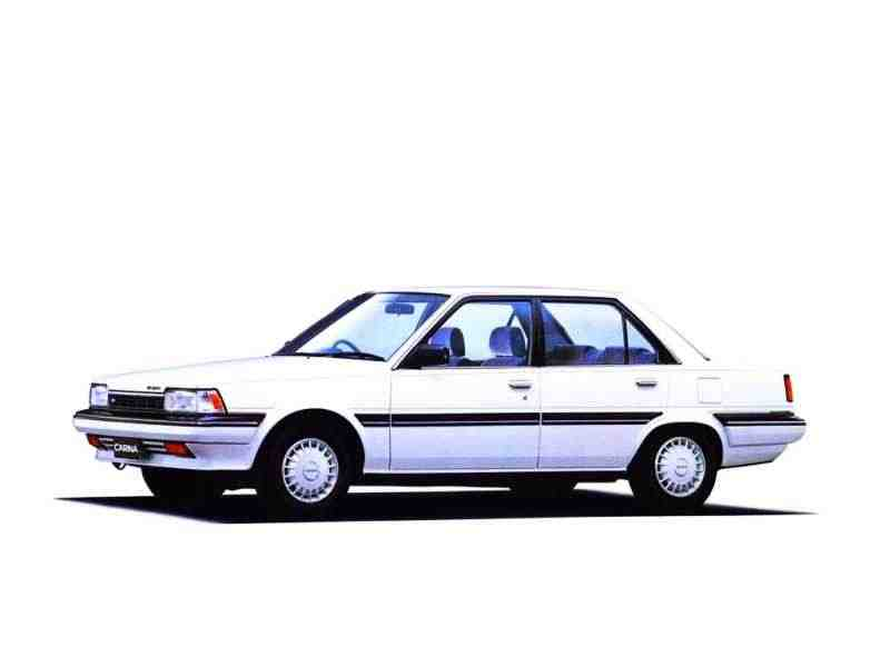 Toyota Carina T150JDM седан 4-дв. 1.6 AT Overdrive 1984–1986