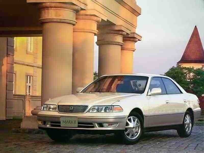 Toyota Mark II X100седан 2.5 АWD AT 1996–1998