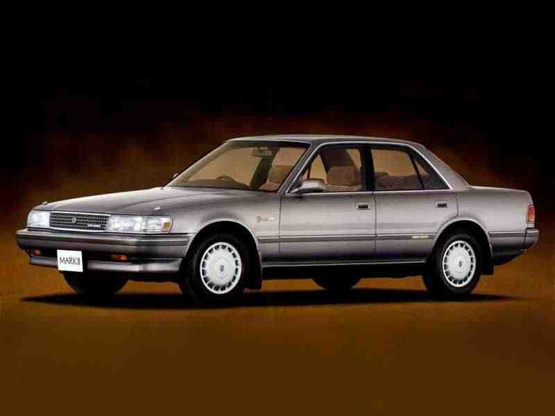 Toyota Mark II Х80седан 2.0 MT 1988–1992
