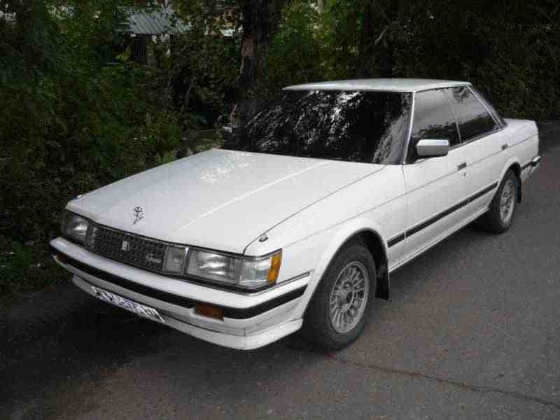 Toyota Mark II X70седан 2.0 MT 1984–1988