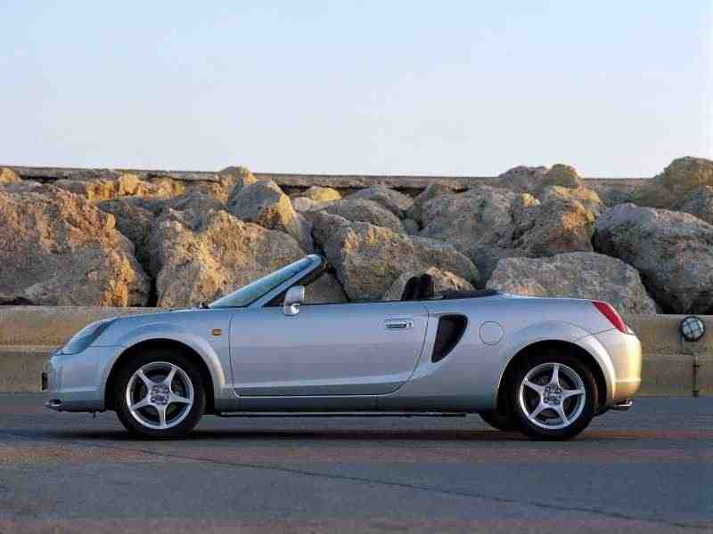 Toyota MR2 W30родстер 1.8 MT 2000–2002