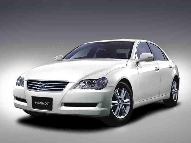 Toyota Mark X 1 поколение  [рестайлинг] седан 3.0 AT 2007–2009