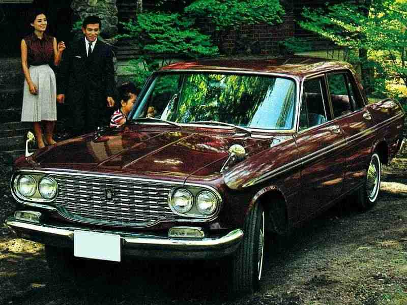 Toyota Crown S40седан 4-дв. 1.9 MT Overdrive 1962–1967