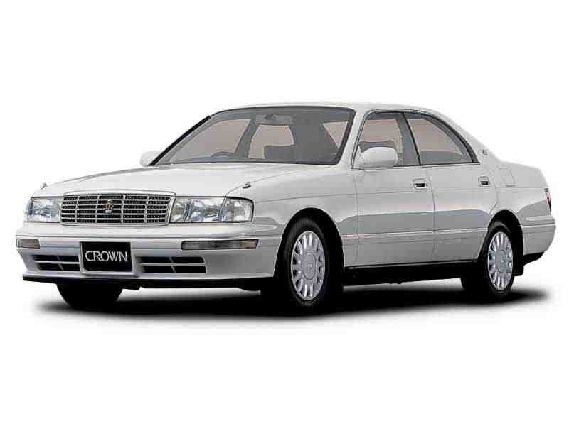 Toyota Crown S140 [рестайлинг] JDM хардтоп 2.5 AT 1993–1995