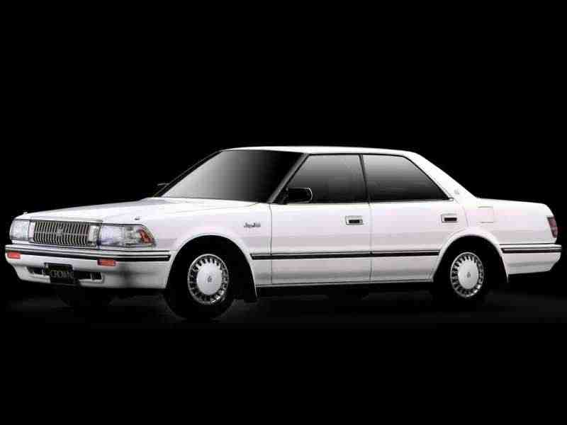 Toyota Crown S130JDM хардтоп 2.0 AT 1987–1991