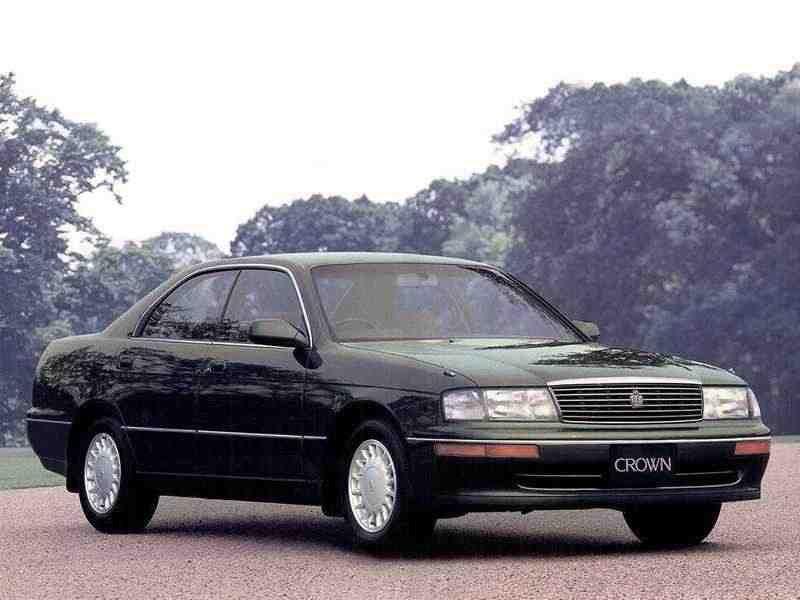 Toyota Crown S140JDM хардтоп 3.0 AT 1991–1993