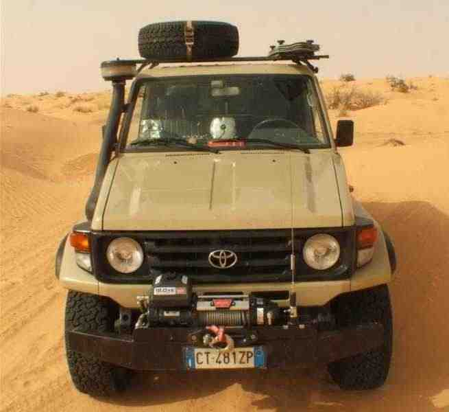 Toyota Land Cruiser J70 [2-й рестайлинг] J79 пикап 2-дв. 4.2 TD MT 1999–2007
