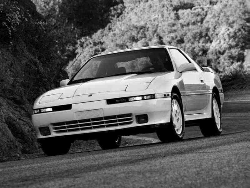 Toyota Supra Mark III [рестайлинг] тарга 3.0 Turbo MT Overdrive 1989–1992