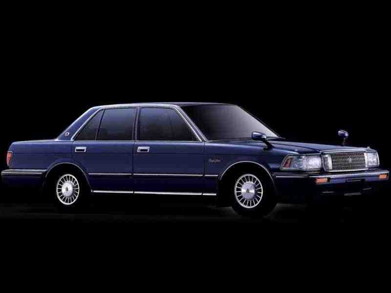 Toyota Crown S130седан 2.4 TD AT 1989–1991