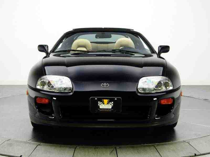 Toyota Supra Mark IVтарга 3.0 Twin-Turbo AT Overdrive 1993–1996