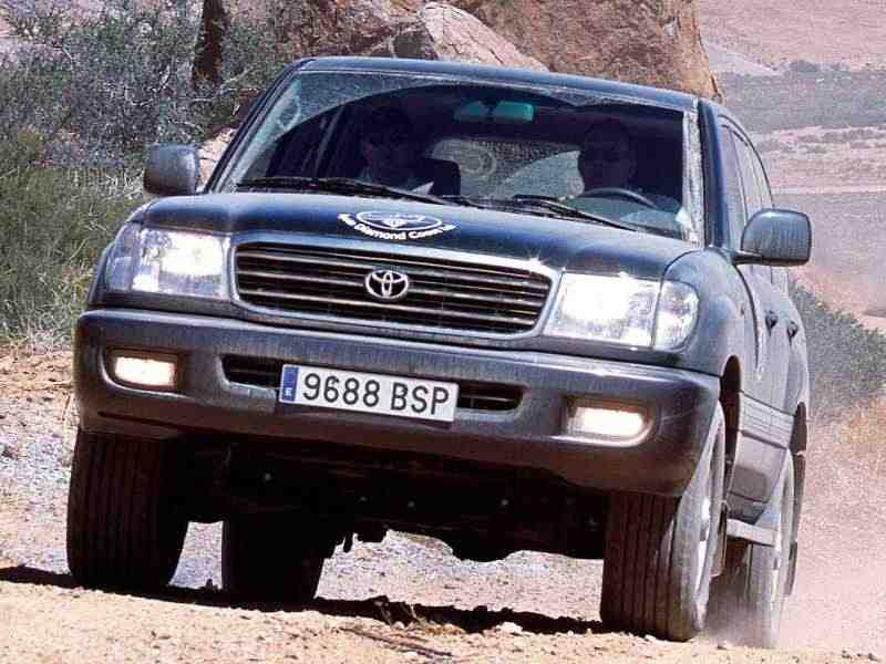 Toyota Land Cruiser J100внедорожник 4.2 D MT 1998–2002