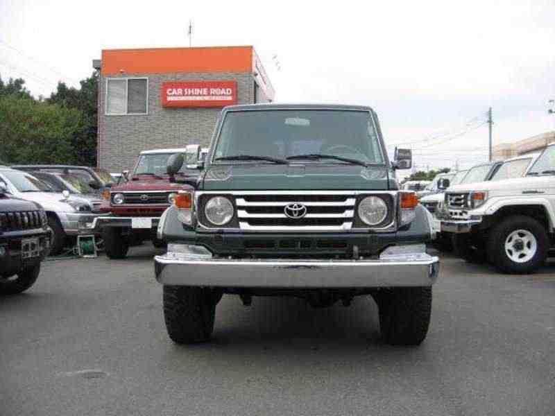 Toyota Land Cruiser J70 [2-й рестайлинг] J76 внедорожник 5-дв. 4.2 D MT 2000–2007