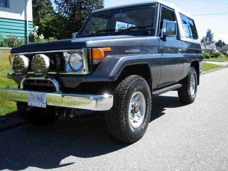 Toyota Land Cruiser J70BJ74V внедорожник 3-дв. 3.4 D MT 1985–1990