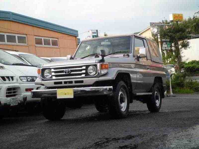Toyota Land Cruiser J70 [2-й рестайлинг] J73 кабриолет 4.2 D MT 1999–2007