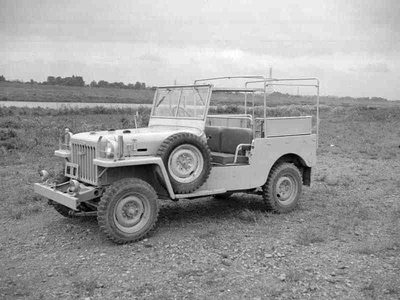 Toyota Land Cruiser BJкабриолет 3.4 MT 1951–1954