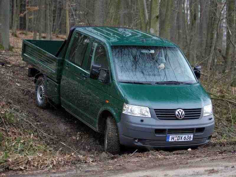 Volkswagen Transporter T5Double Cab пикап 4-дв. 2.5 TDI 4motion L AT 2004–2009