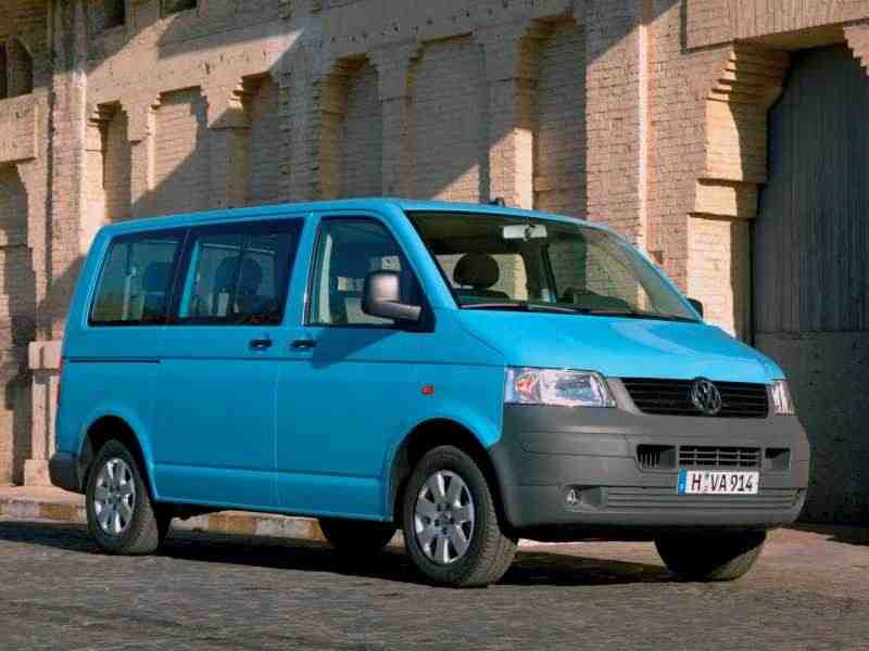 Volkswagen Transporter T5Микроавтобус 3.2 AT 4motion L1H2 SWB 2003–2009