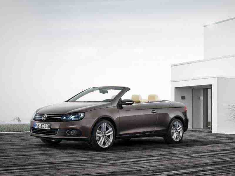 Volkswagen Eos 1 поколение  [рестайлинг] кабриолет 2.0 TDI BlueMotion DSG 2010–н. в.