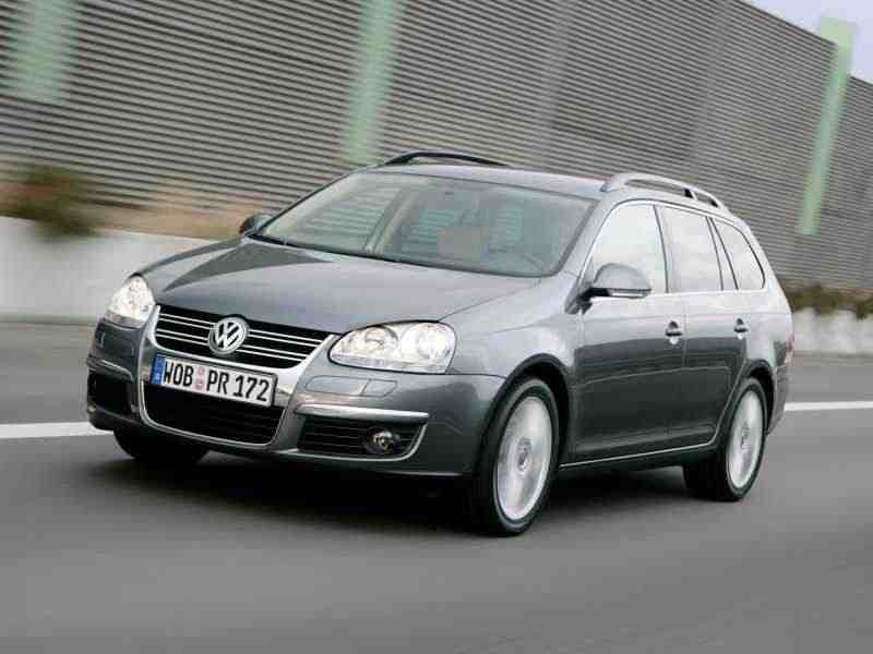 Volkswagen Golf 5 поколение Variant универсал 1.9 TDI 4Motion MT 2007–2009