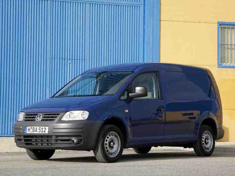Volkswagen Caddy 3 поколение Maxi фургон 4-дв. 1.6 MT 2007–2010