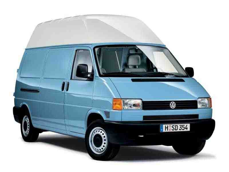 Volkswagen Transporter T4фургон 2.5 AT 1996–2003